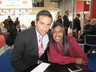 Alka Patel from Elite Mobile UK and Ilan Doron from Numaxx USA