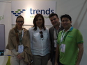 Trends Trade Poland Team - Pooja Bojwani, Rajesh Bojwani , Lukasz and Lenapg