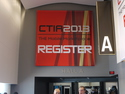 gsmExchange tradeZone @ CTIA 2013 - Entrance to Hall A