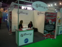 LFE Distribution Inc Booth - gsmExchange tradeZone @ GITEX 2013.jpg